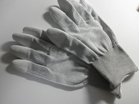 パソコン 静電気 手袋