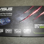 ASUSのGeForce650Ti!ベンチマークでスコア測定!