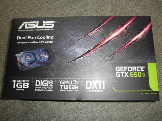ASUS GeForce 650Ti