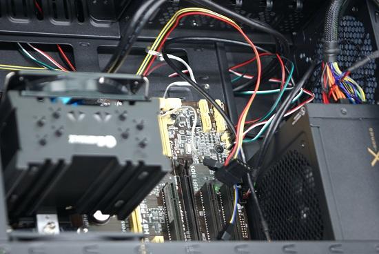 自作PC 配線 コツ
