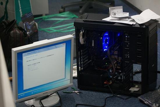 自作PC OSインストール