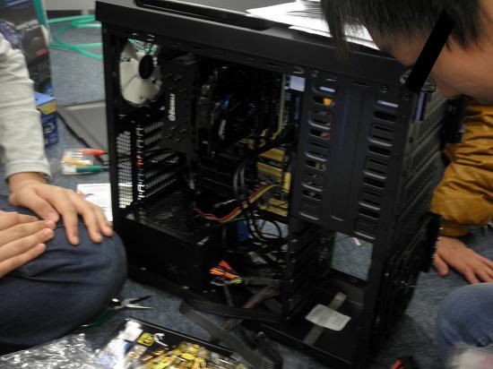 自作PC 配線 きれい