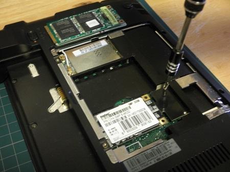 Eee PC SSD 換装