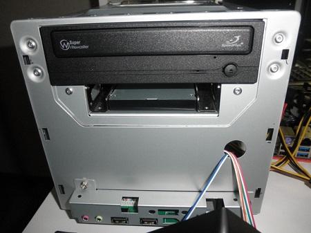 MINI-ITX 自作PC DVD