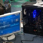友人の自作PC!学校卒業記念で製作!OSインストールで完成!