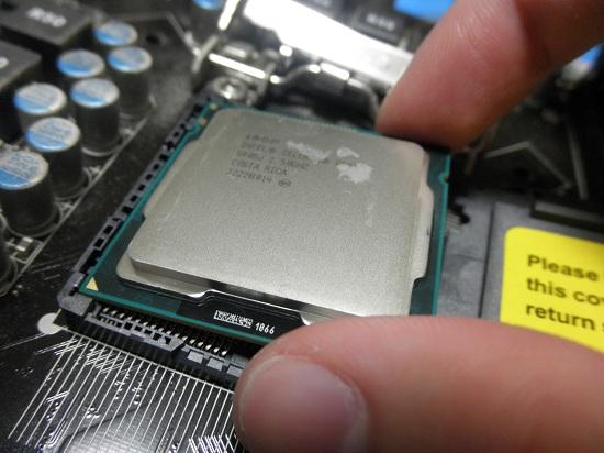 CPU 載せる