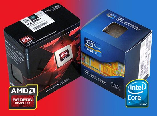 インテル AMD 違い