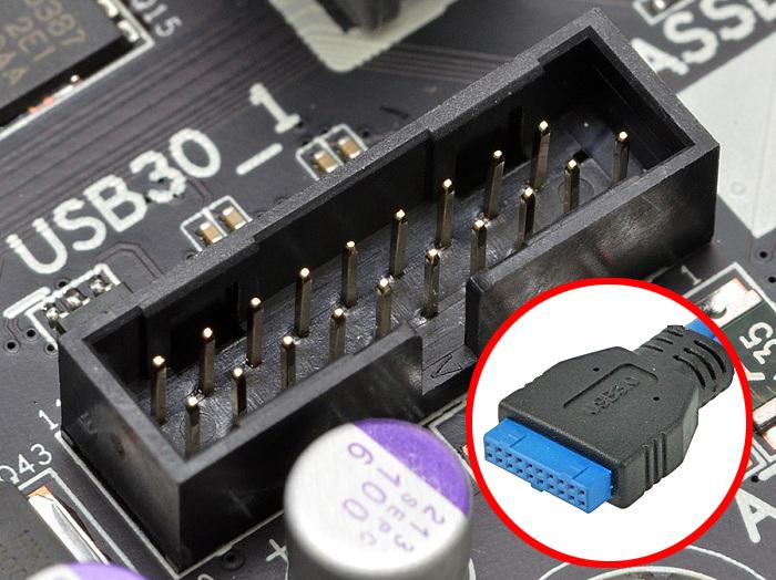 USB3.0 コネクタ形状