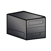 デスクトップPC キューブ型