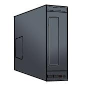 デスクトップPC スリム型