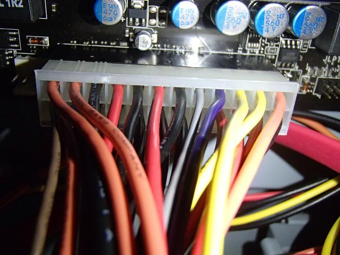 主電源用ケーブル24ピン