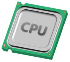 CPU アイコン フリー