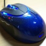 蛇柄で青く光る多機能ゲーミングマウスのレビュー!重量調節おもり内蔵のGM3200!ロゴは虹色で速度チェンジャー搭載!