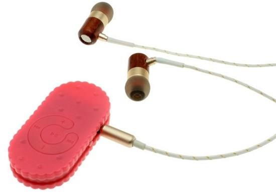 お菓子なビスケット型 MP3プレーヤー