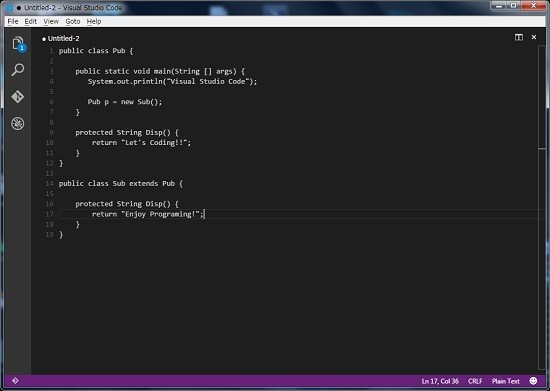 Visual Studio Code 使い方
