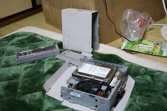メーカー製パソコン 分解