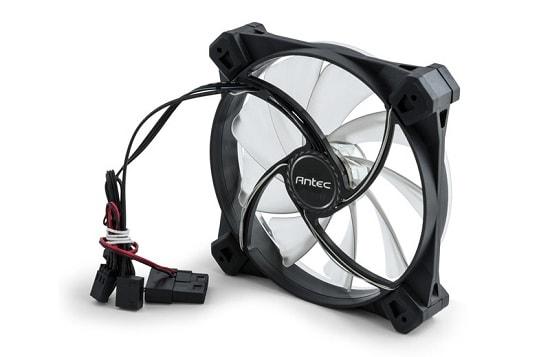 自作PC LEDファン
