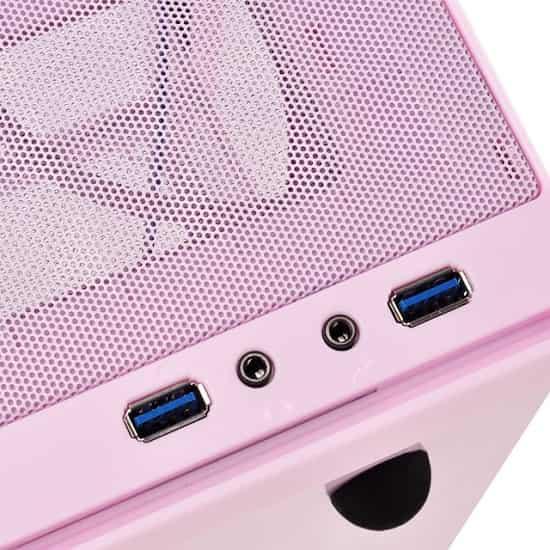 PCケース ピンク