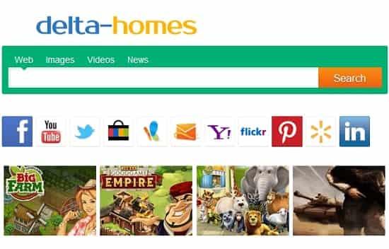 Delta Homes マルウェア