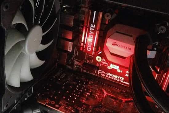 自作PC 照明