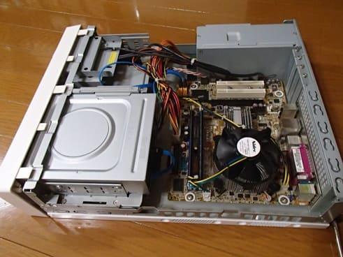 フロンティア PC分解