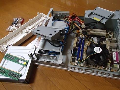 メーカー製パソコン SSD換装