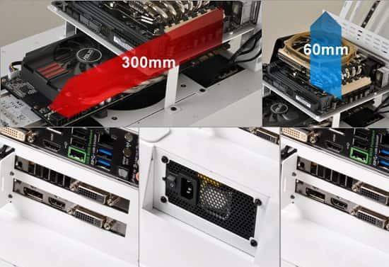 Mini-ITX 船 PCケース