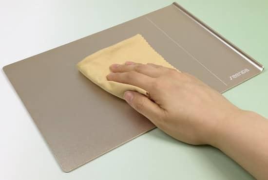 マウスパッド 掃除
