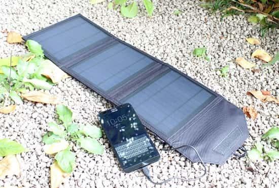 スマホ ソーラー充電