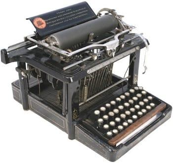 タイプライター CapsLock