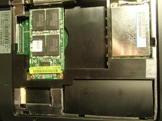 Eee PC 901 SSD 128GB 換装