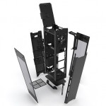 アルミ製縦長デザインのPCケース!Mini-ITXにおすすめのENTHOO EVOLV SHIFT!