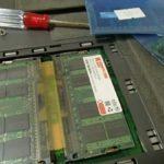 古いノートPCの復活大作戦!ジャンクメモリで4GBに増設!Windows10にアップグレードしてみた!