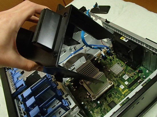 BTOパソコン ダクトユニット