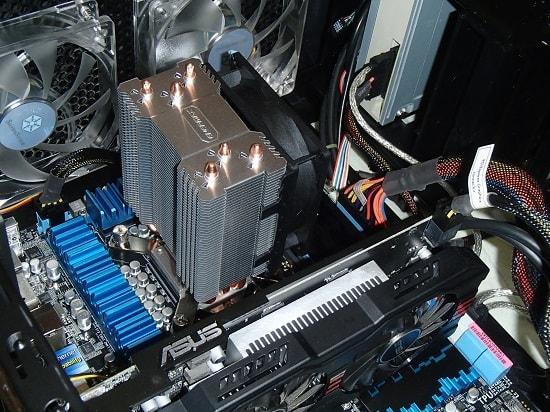 CPUクーラー サイドフロー型
